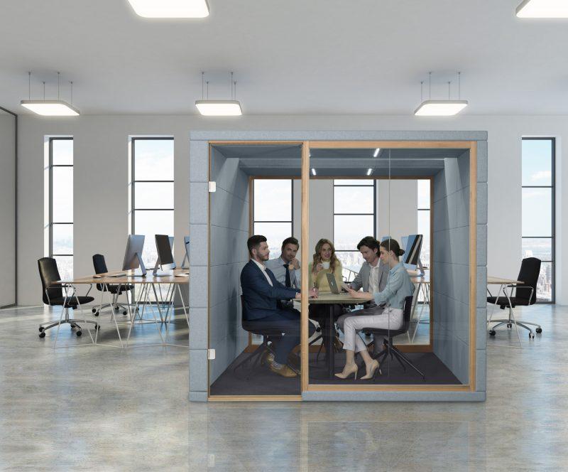 Meetingbox Raum in Raum