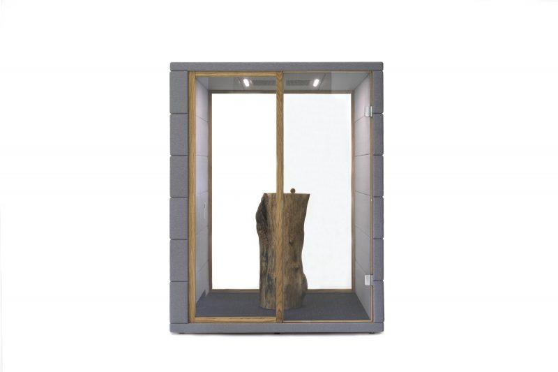 Silent Cubiq Front Holzstamm