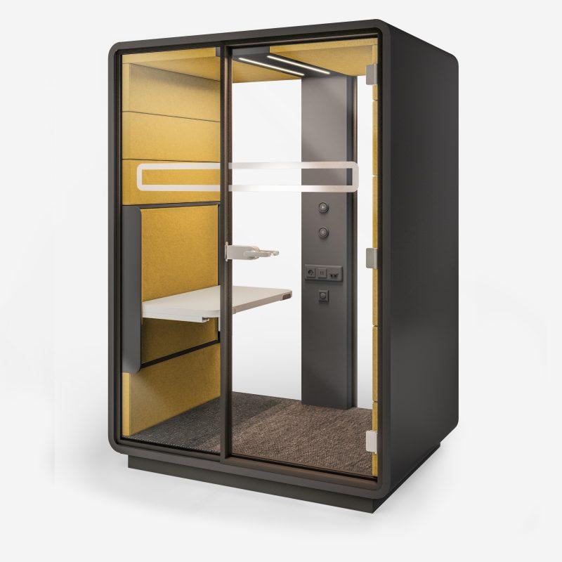 Smartphone Box XL grau gelb