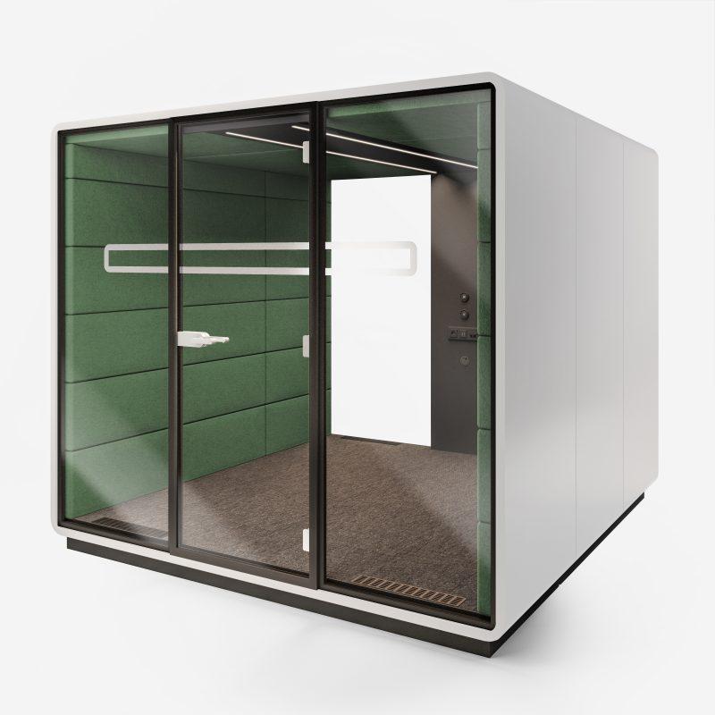 Work Box XL-2 weiß grün