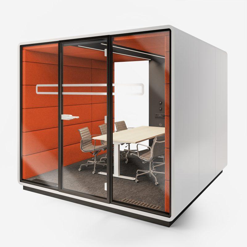 Work Box XL-2 weiß orange