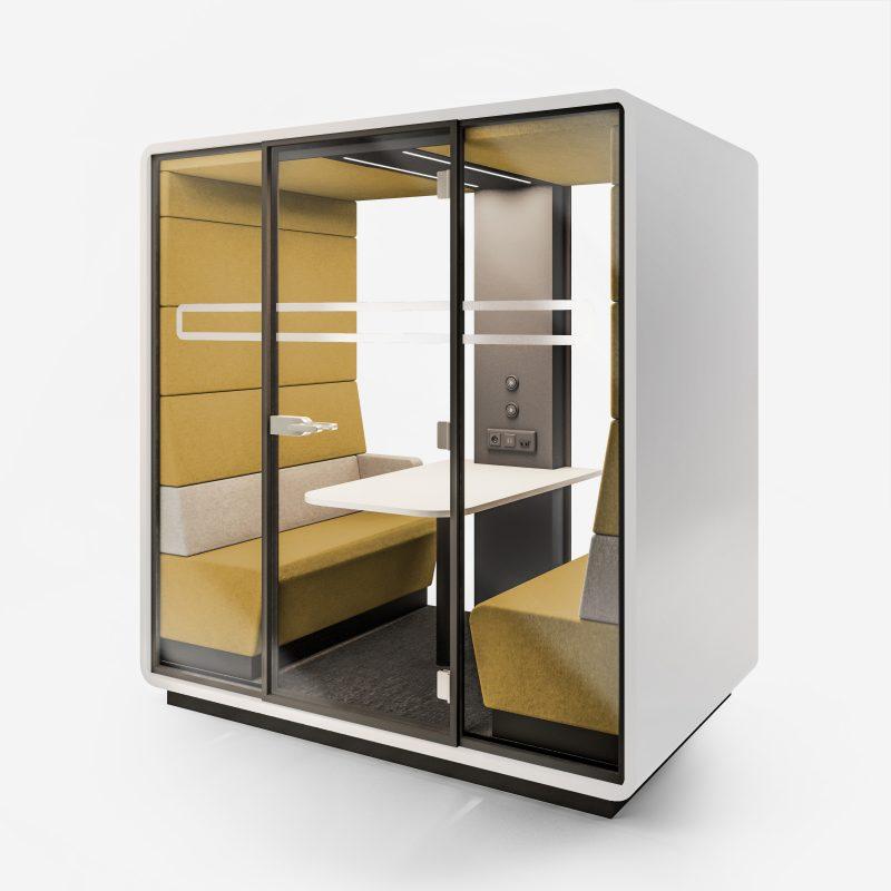 Work Box XL-N weiß gelb