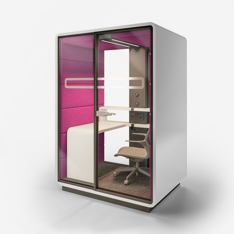 Smartphone Box XL weiß / pink