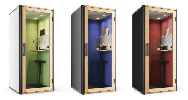 3 Telefonkabinen Nooa Mini Office BE Individual
